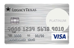 American Express Card from Legacy Texas Financial