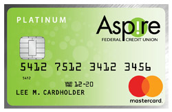 MasterCard Platinum from Aspire FCU