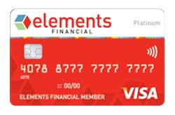 Elements Financial Platinum Visa® Credit Card