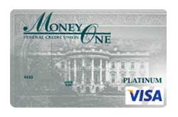 Visa Platinum Card from Money One FCU