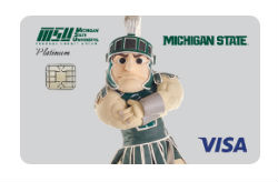 Platinum Visa Card from Michigan State FCU