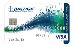 Student VISA Rewards Card from Justice FCU