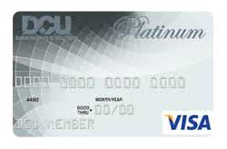 DCU Visa Platinum Secured from Digital FCU