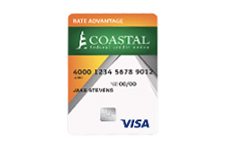 Rate Advantage Secured Visa by Coastal FCU