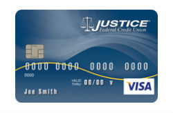 Visa Classic Secured Card from Justice FCU