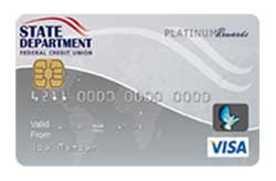 Savings Secured Visa Platinum Card from State Department Federal