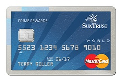 Prime Rewards Credit Card from SunTrust Bank