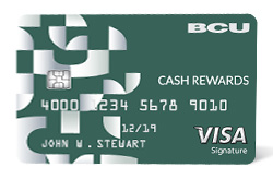 Cash Rewards Visa® Card from Baxter CU
