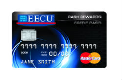Cash Rewards MasterCard® from EECU