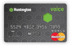 Huntington Voice Credit Card
