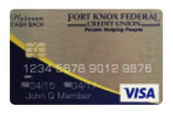 Fort Knox Federal Credit Union Visa<sup>®</sup> Platinum Card