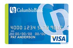 Visa Bonus Rewards PLUS Card from Columbia Bank