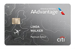 Citi® / AAdvantage® Platinum Select® World Elite™ Mastercard<sup>®</sup>