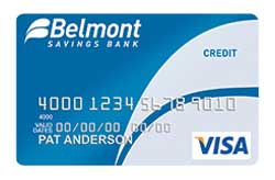 Visa Bonus Rewards PLUS Card from Belmont Savings Bank
