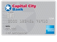 Cash Rewards American Express® Card from Capital City Bank