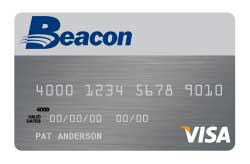 Visa Bonus Rewards PLUS Card from Beacon CU