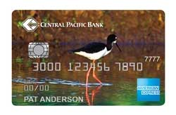 Cash Rewards American Express® Card from Central Pacific Bank