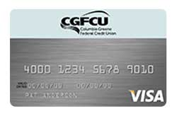 Visa Bonus Rewards PLUS Card from Columbia Greene FCU