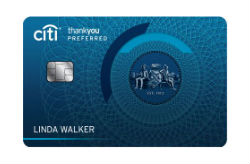 Citi ThankYou<sup>®</sup> Preferred Card for College Students