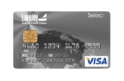 Langley Select Visa Platinum Card from Langley FCU