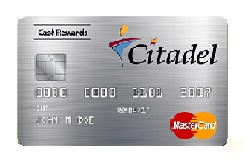Citadel 1.5% Cash Rewards MasterCard