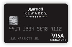 Marriott Rewards<sup>®</sup> Premier credit card