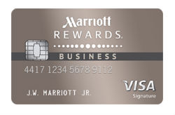Marriott Rewards<sup>®</sup> Premier Business credit card