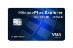 United MileagePlus<sup>®</sup> Explorer Card