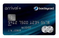 Barclaycard Arrival Plus™ World Elite MasterCard<sup>®</sup>