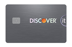 Discover it<sup>®</sup> Secured Card - No Annual Fee