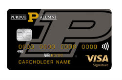 Visa Signature Credit Card from Purdue FCU