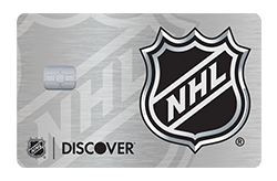 NHL<sup>®</sup> Discover it<sup>®</sup> Card