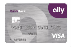 Ally CashBack Credit Card