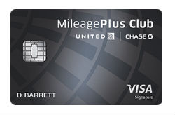 United MileagePlus<sup>®</sup> Club Card from Chase Bank