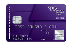 Starwood Preferred Guest<sup>®</sup> Business Credit Card from American Express