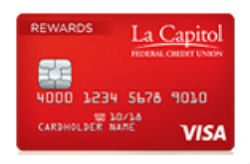 Visa Rewards Card from La Capitol FCU