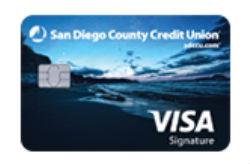 Visa Signature Card from San Diego County CU