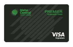 Premier Rewards Visa from Idaho Central CU