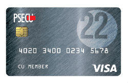 The Founder's Card from PSECU