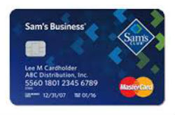 Sam's Club<sup>®</sup> Business Mastercard<sup>®</sup>