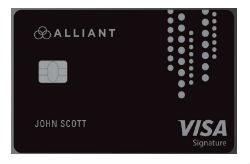 Alliant Cashback Visa<sup>®</sup> Signature Card