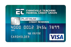 ETFCU's Platinum Rewards Credit Card