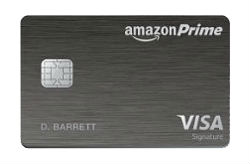 Amazon Prime Rewards Visa® Signature Card