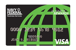 Navy Federal Credit Union Visa<sup>®</sup> Business Card