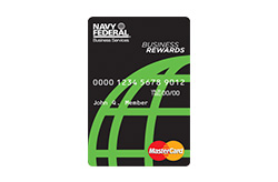 Navy Federal Credit Union Mastercard<sup>®</sup> Business Card