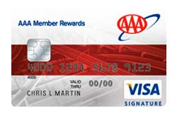 AAA Member Rewards Card from Bank Of America