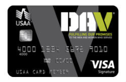 Disabled American Veterans USAA Rewards™ Credit Card