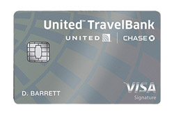 The United<sup>SM</sup> TravelBank Card from Chase Bank