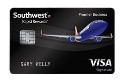 Southwest Rapid Rewards<sup>®</sup> Premier Business Credit Card from Chase Bank