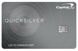 Quicksilver® Cash Rewards Credit Card